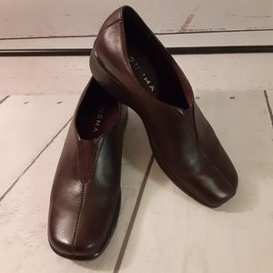 "SONOMA ""REESE BROWN"" CLOG STYLE SHOES"